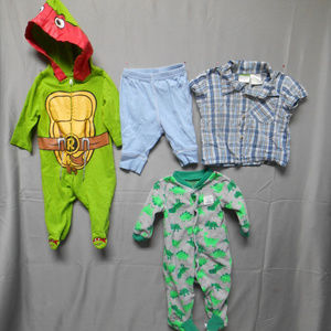 Other - Lot of 4 pieces boy's size 0-3 + 0-6 months